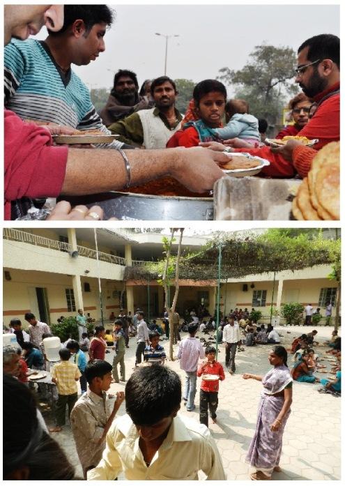 Hranite gladne... Ovo su akcije deljenja hrane u Delhiju, deci sa oštećenjem govora i sluha u Čenaiju, a koje je organizovala BTW porodica. I vi možete da se udružite.