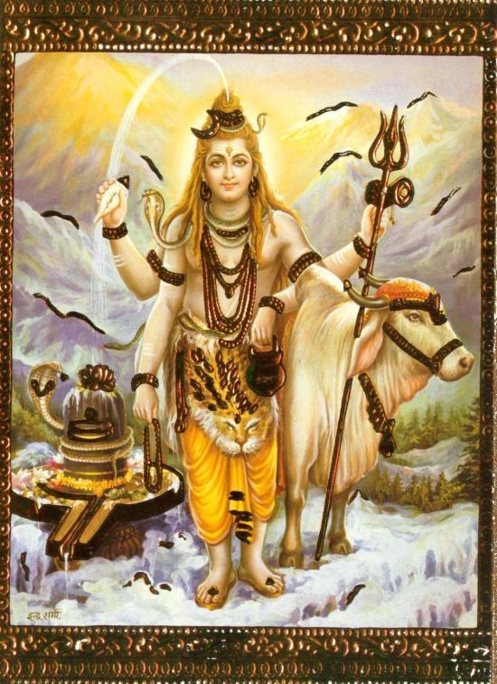 Šiva je (personifikacija za) sve. Sve je Šiva. On je bez forme.