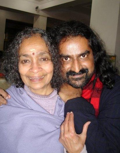 Mata Devi Vanamali i ja