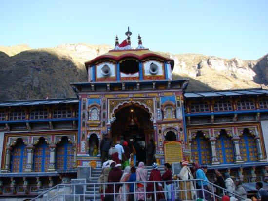 Hram Badrinat na Himalajima