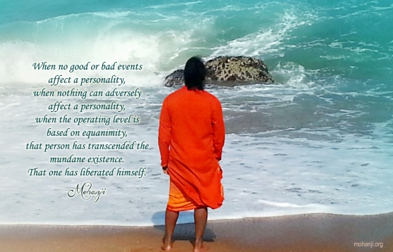Mohanji quote. Liberated...