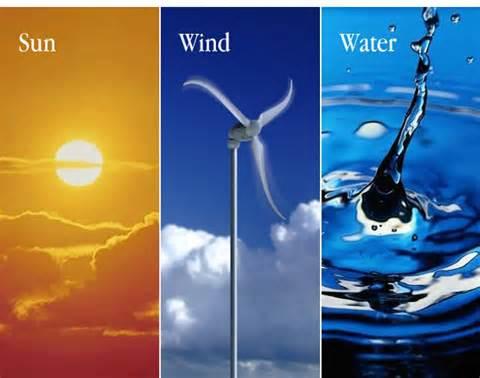 Resursi dati od Boga su sunce, vetar i voda. To su resursi koje nam je Bog dao. Ni jedan od njih ne zagađuje Zemlju. Mi biramo da koristimo naftu.