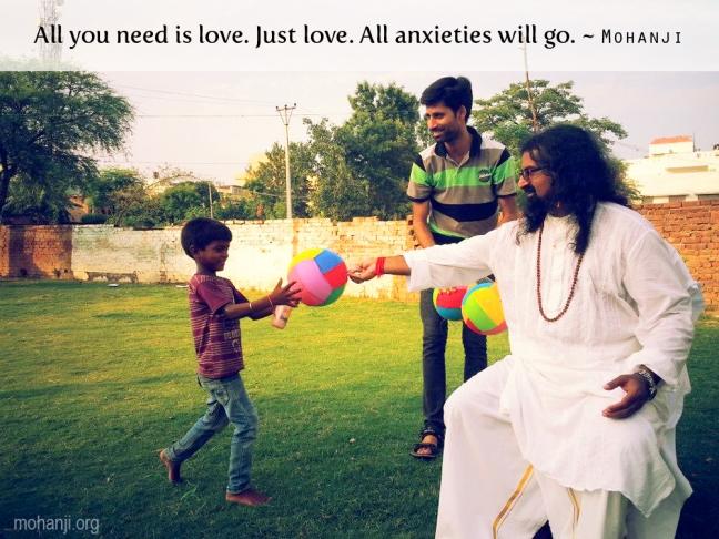 Sve što vam treba je ljubav. Samo ljubav. Sve brige će nestati.
