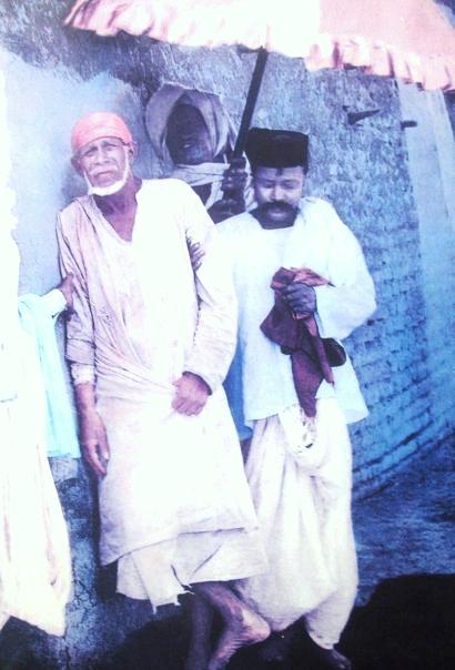 Širdi Sai Baba i Šama, originalna fotografija