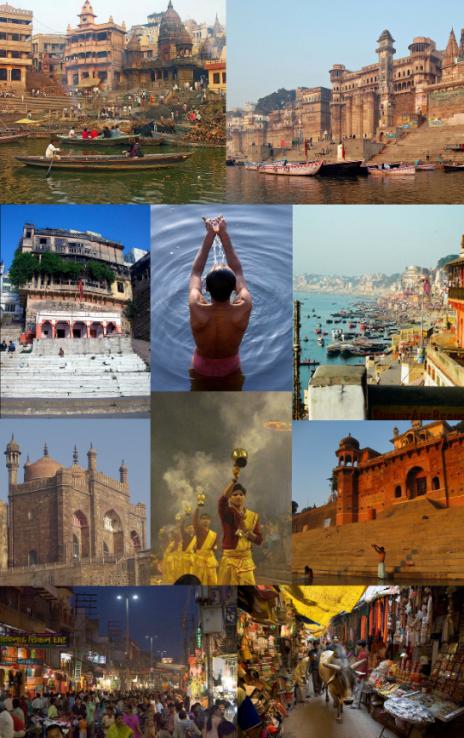 2 Varanasi kolaž - izvor Wikipedia