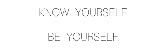 know-yourself-be-yourself