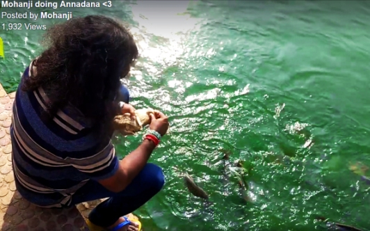 mohanji-feeding-fish
