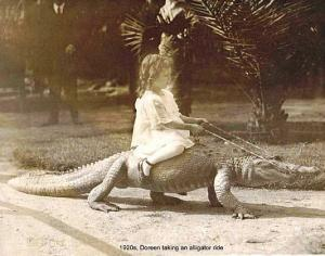 girl-riding-an-alligator