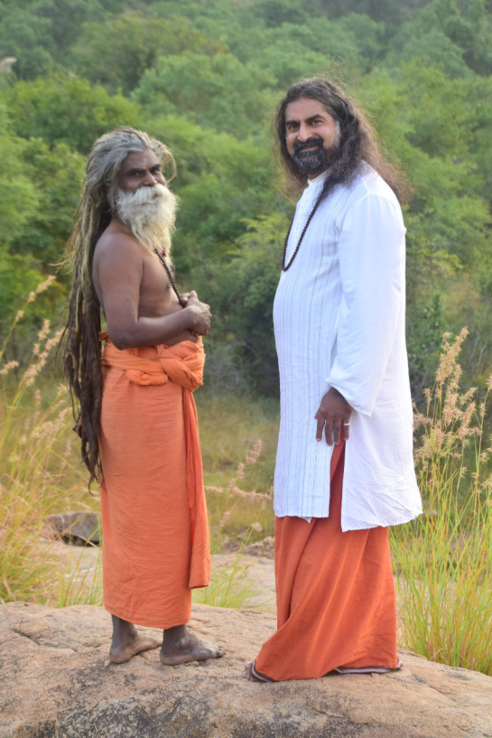 mohanji-and-a-swami-in-arunachala