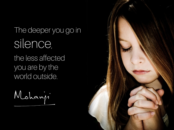 Mohanji - The deeper you go into silence
